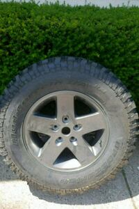 Jeep Rubicon Wheels and Tires all 5 West Des Moines, 50265