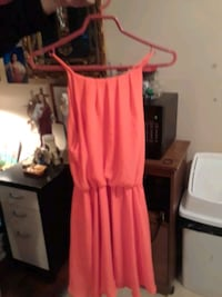 Lush bright orange dress  Edmonton, T5A 0Z8