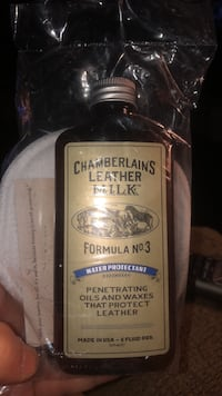 Chamberlains leather cleaner!