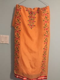 Peach colour handwork Punjabi suit Brampton, L6P 3N8