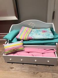 American Girl Trundle Bed for Doll
