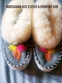 Handmade Moccasins ONLY$15!