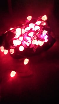 Outside holiday color changing string lights Hatboro