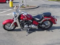 red and black cruiser motorcycle ASHBURN