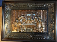 "The last supper picture, glass was cracked and has been removed, 28"" x 21 1/2"" - $5 Mississauga, L5L 5P5"