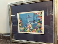 Professionally Framed Dolphins Mississauga