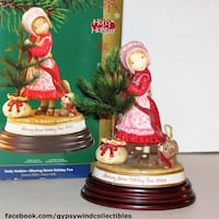Holly Hobbie Christmas 2006 Limited Edition figuri Mississauga