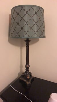 Black and brown table lamp Houston, 77007