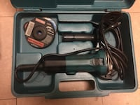 black and green Makita  angle grinder set with case Wilkes-Barre, 18711