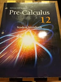 Math Pre-Calculus Workbook