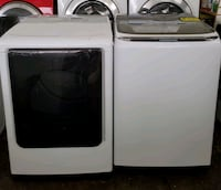 SAMSUNG top load washer and dryer set  Baltimore, 21223