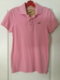 Hollister california men's collared polo shirt size Small