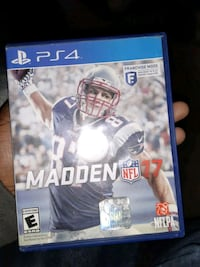 NFL Madden 2017 PS4 District Heights, 20747