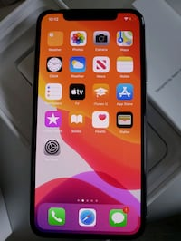 iPhone x g4 gb like new