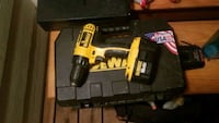 yellow and black DeWalt cordless power drill Nampa, 83686