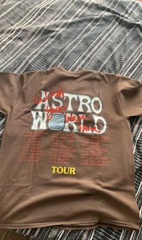Astroworld tour tee (Size M, Fits oversized) Toronto, M4V 1J5