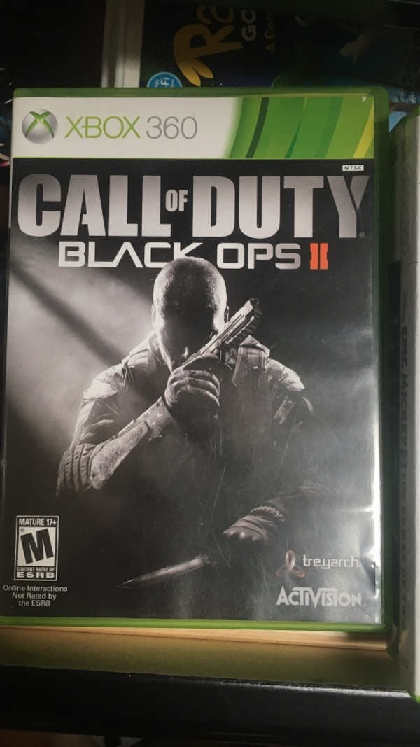 Call of Duty Black Ops 2 PS3 game case