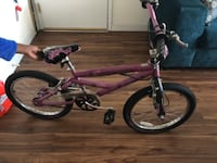 purple and black Mongoose BMX bike CAPITOLHEIGHTS