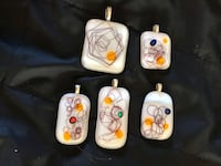 Fused glass necklaces Calgary, T2K 4H5