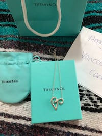 Authentic Tiffany and Co Aries necklace  Coquitlam, V3K 5H6