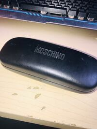 Moschino vintage sunglasses with the case.