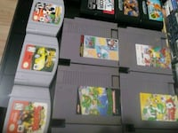assorted Nintendo 64 game cartridges Niagara Falls, L2G 1E1