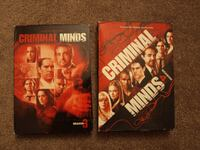 Compete Seasons 3 and 4 of Criminal Minds TORONTO