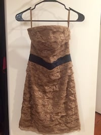 Size 6 Strapless Lace Dress Alexandria, 22309