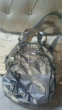The Sak silver leather bag with long strap for cro Newport News, 23601