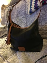 Black and brown leather hobo bag Winchester, 22602