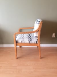 Wood arm chair VANCOUVER