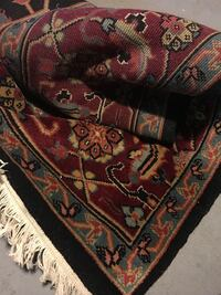 Hand knotted oriental rug 12 x 9 (India)