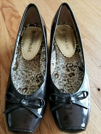 Size 7 Rampage brown dress shoes.  EUC. Greer, 29651