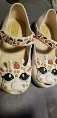 pair of cream giraffe shoes Covina, 91722
