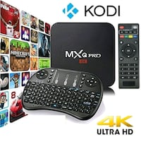 2018 new android 7.1 programmed tv box with KB Mississauga, L5V 1N5