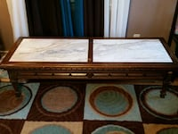 Antique Italian Marble coffee table