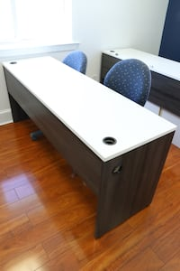 Office desks, Cubicles and office chairs