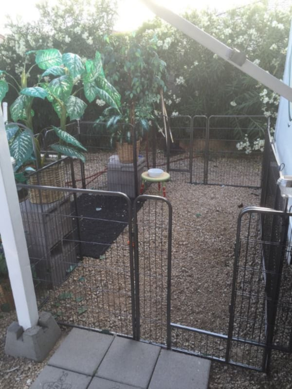 NEW!! Dog Fence - Heavy duty Panels - Indoor and Outdoors. 923265c0-1456-4d26-b71c-c105654c67f8