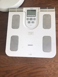 omoron weight scale
