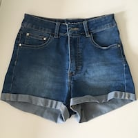 Blå denim shorts Frekhaug, 5918