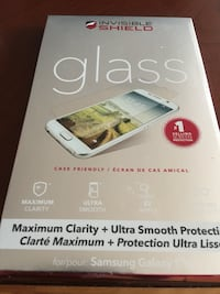 Clear glass smartphone invisible shield  printed pack Halifax, B3R 1W5
