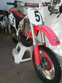 red and white motocross dirt bike Lake Zurich, 60047