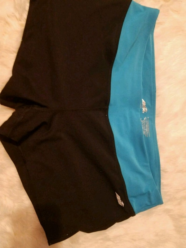 26fb84e0fc Used women's black and blue shorts for sale in San Leandro - letgo