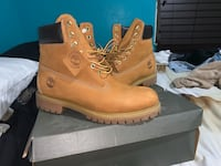 pair of brown Timberland work boots Miami, 33167