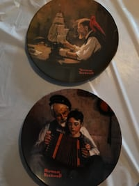 Norman Rockwell  collectible plates -6 total Aurora, L4G 5M4