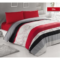 red and black bed sheet set London