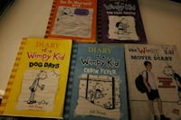 four Diary of a Wimpy Kid books Mastic, 11950