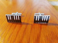 Piano Keyboard Cufflinks Toronto, M2M 2Z3