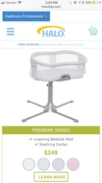 Swivel bassinet