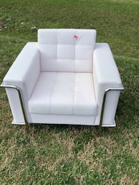 New Leather Myron Accent Chair
